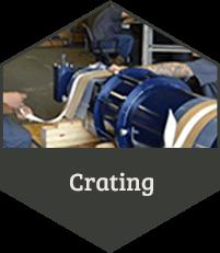 Crating - ATI Manufacturing Process