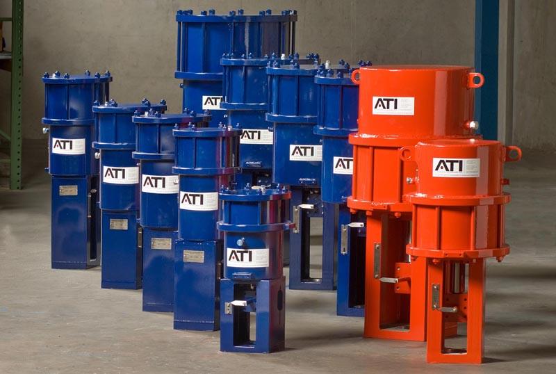 ATI Linear Pneumatic Actuators Performance Highlights